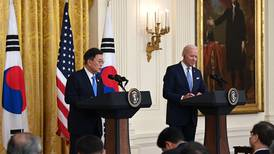 Biden refuerza alianza entre EE. UU. y Asia en reunión con presidente surcoreano