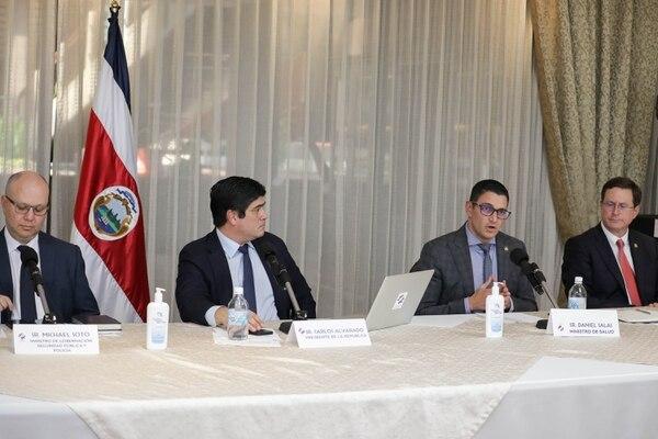 El ministro de Salud dio el detalle de la situación del covid-19 en el país reportada hasta este viernes 27 de marzo. Foto: Roberto Carlos Sánchez