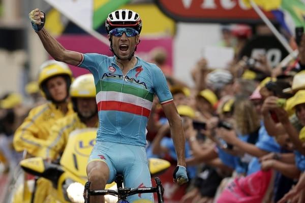 Vincenzo Nibali ganó la etapa 19 del Tour.