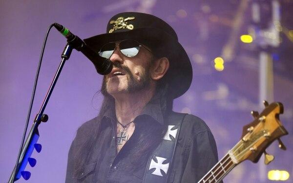 Lemmy Kilmister canceló el concierto en Texas debido a su salud.