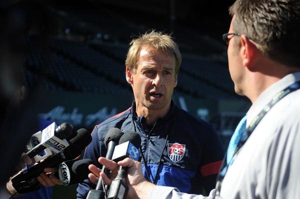 Jürgen Klinsmann dice que los beliceños serán duros. | ALONSO TENORIO