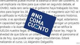 #NoComaCuento: Es falso que la reforma fiscal sería derogada si la huelga del MEP es declarada legal
