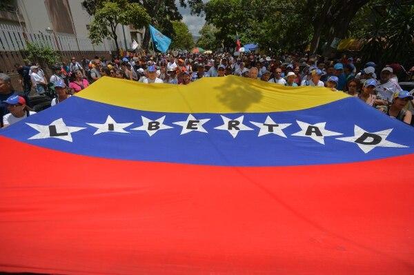Protestas en Venezuela reclaman que el pueblo tiene hambre
