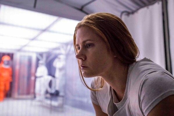 Amy Adams, en el papel de Louise Banks, pasará por momentos duros durante la trama. una fractura emocional la lleva al extremo. Cortesía de Discine