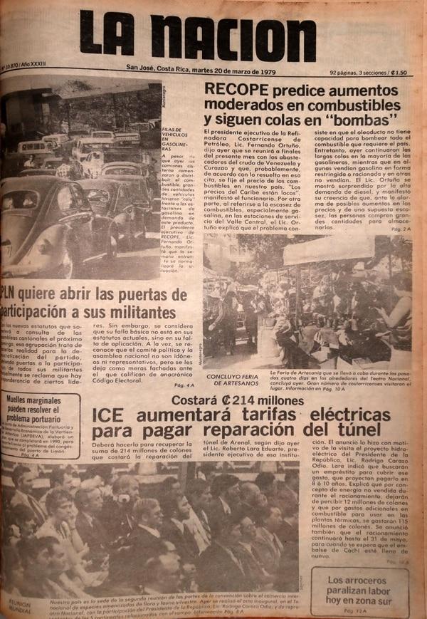 La Nación el 20 de marzo de 1979