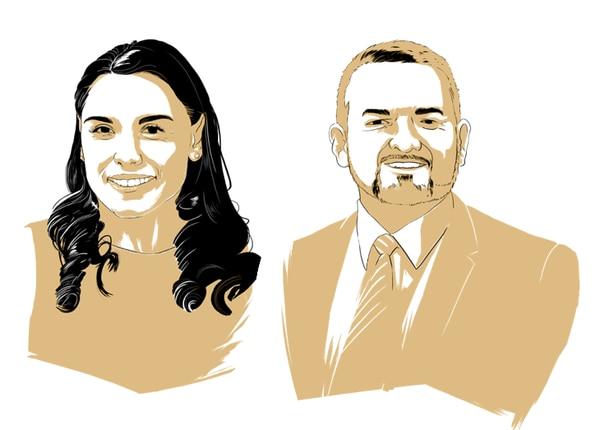 Ivonne Acuña y Francisco Prendas son los candidatos a la primera y segunda vicepresidencia por Restauración Nacional.