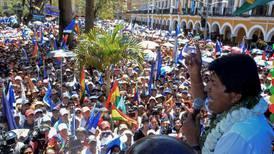 Evo Morales logra reelección en primera vuelta, según Tribunal Electoral