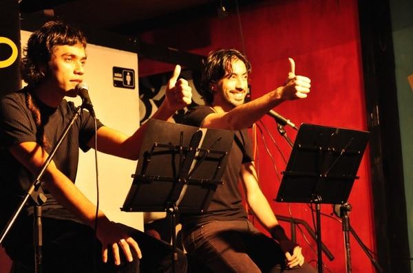 Rubén González y Javier Medina, dúo de comedia. Javier Medina para LN,