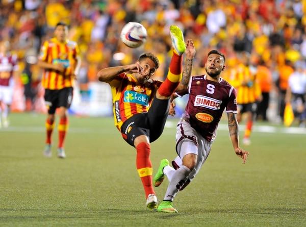 Calvo enfrentó a Ramírez en la final del Invierno 2014. | D. MÉNDEZ