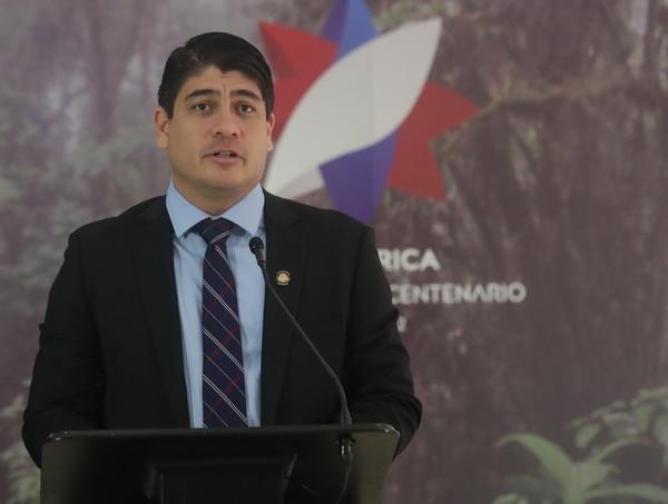 Carlos Alvarado estará en Alemania entre el 25 y 31 de mayo. El 1° de junio participará en el traspaso de mando de El Salvador. Foto: John Durán