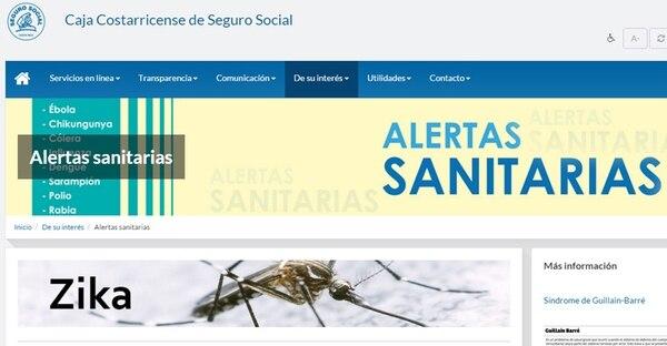 En este subsitio usted puede informarse de esta enfermedad tropical, sus síntomas y cómo prevenirla.   INTERNET