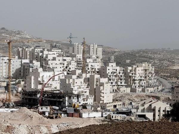 Vista general de la construcción de nuevos asentamientos israelíes en Har Homa, en Jerusalén Este. | AFP.