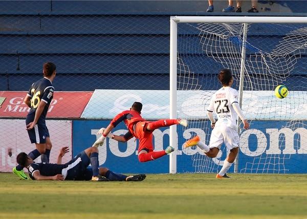 Cartaginés sumó su octava derrota en el Torneo de Clausura 2018 ante Guadalupe. Los brumosos cayeron 2 a 1 en su estadio en la fecha 15. Fotografía: Albert Marín.