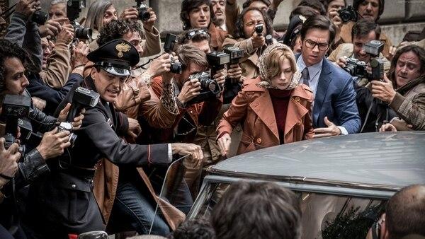 Michelle Williams y Mark Wahlberg tienen papeles claves en la cinta. Sus personajes, Gail y Fletcher, se unirán en una lucha que el asedio de la prensa complicará. Cortesía de Romaly
