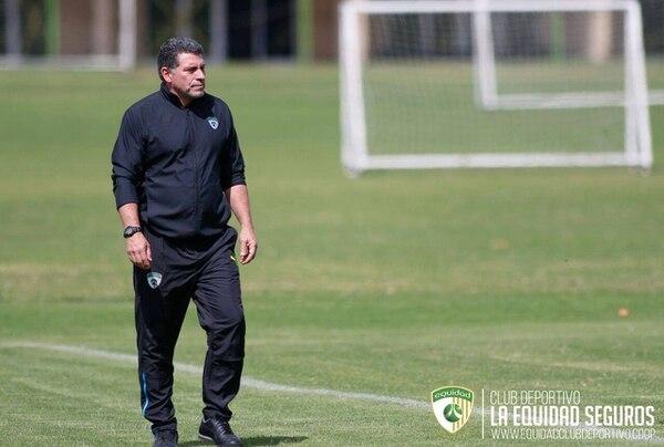 Luis Fernando Suárez es el entrenador de La Equidad en Colombia. FOTO: La Equidad de Colombia