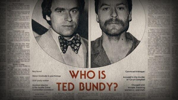 Miniserie 'Conversaciones con asesinos: Las cintas de Ted Bundy'. Fotografía: Netflix para La Nación