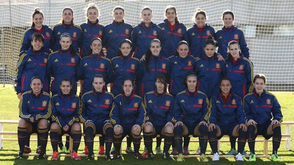 Selección Femenina Sub 17 de España llega a Costa Rica en busca del título.
