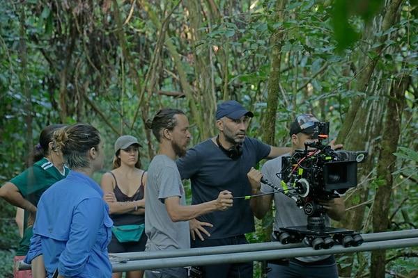 'La boda del Tigre' rodó algunas de sus escenas en medio de la selva del Pacífico Sur. Foto: Cortesía de Esteban Ramírez.