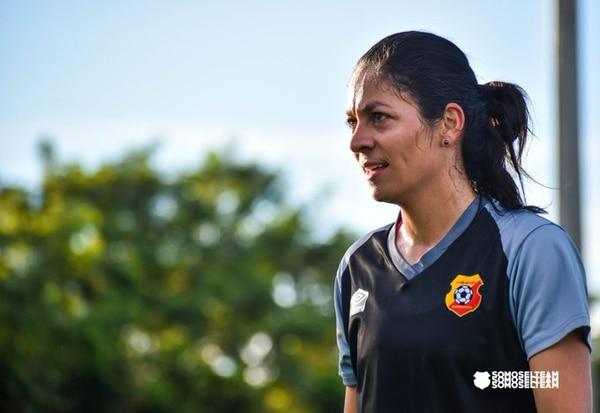 Carol Sánchez, capitana de Herediano. Foto: Facebook de Herediano