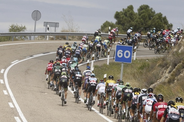 173 ciclistas tomaron la partida en la etapa 13 de la Vuelta a España.