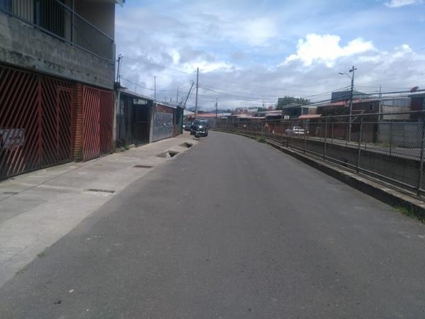 El asesinato ocurrió en Llanos de Santa Lucía, en Paraíso. Foto: Keyna Calderón.