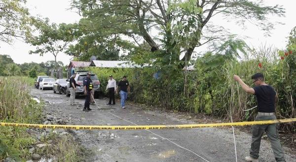 Homicidio de 4 personas en Pueblo Real en Paquita de Quepos.