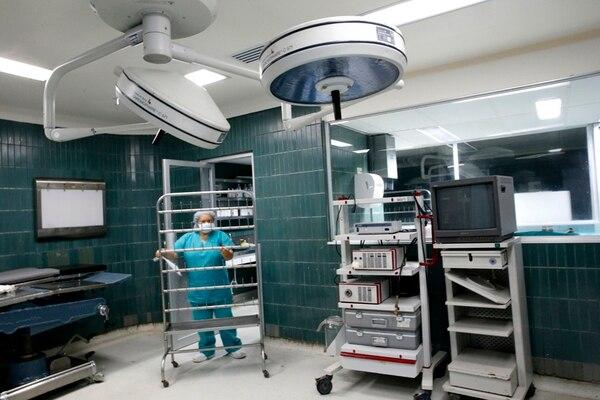 La crisis por el cierre de quirófanos se inició el 24 de julio. | RAFAEL PACHECO