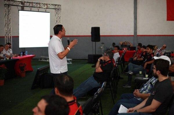 El sábado pasado hubo asamblea en Alajuelense. Fotografía: Leonardo Medina / Prensa Alajuelense