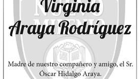 VIRGINIA ARAYA RODRIGUEZ