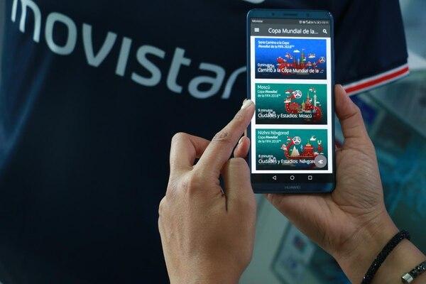 La telefónica Movistar ofreció el pasado mundial de fútbol la posibilidad de ver todo el torneo sin gastar internet (Imagen con fines ilustrativos). Foto: Movistar para LN