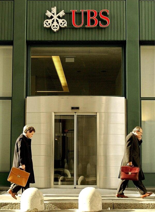 El banco UBS ha sido una de las entidades con miles de cuentas no declaradas de clientes estadounidenses