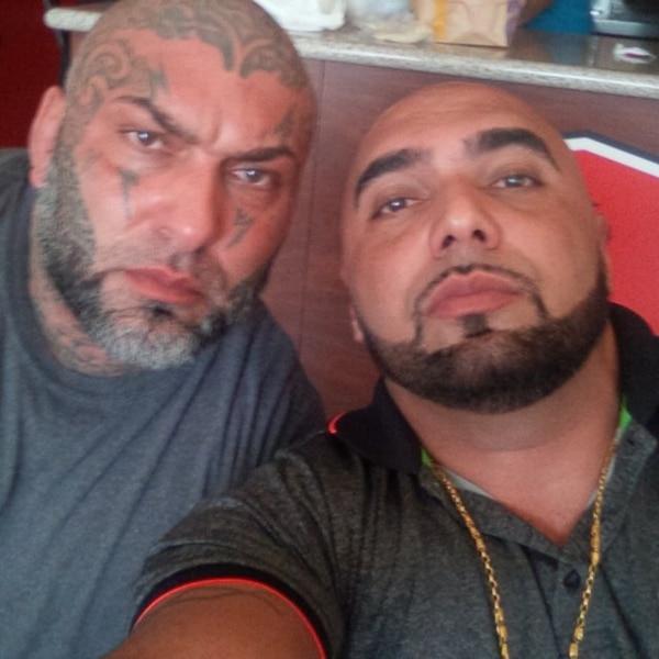 Aquí los hermanos Ziad y Elías Akl. El segundo falleció en mayo de 2017 en un ataque a balazos. Foto: Archivo