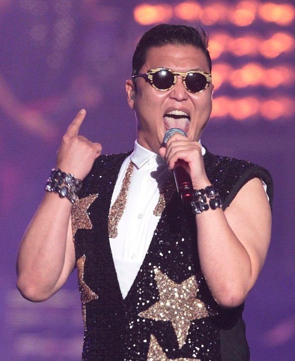 Famosos.En su nuevo video, Psy canta junto a Snoop Dog.Archivo/AP.