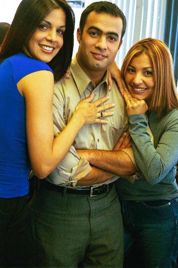 Lynda Díaz, Jorge Martínez y Maricruz Leiva.
