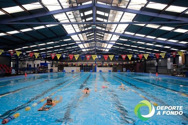 La piscina Municipal de Goicoechea es techada y de 25 metros. Foto: Rafael Pacheco