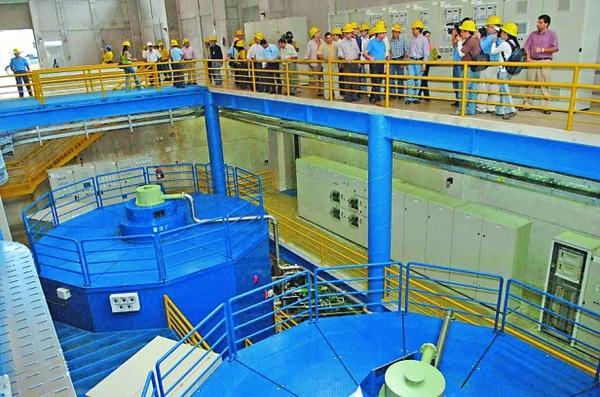 La planta hidroeléctrica Cariblanco fue inaugurada en el 2007 por el expresidente Óscar Arias.
