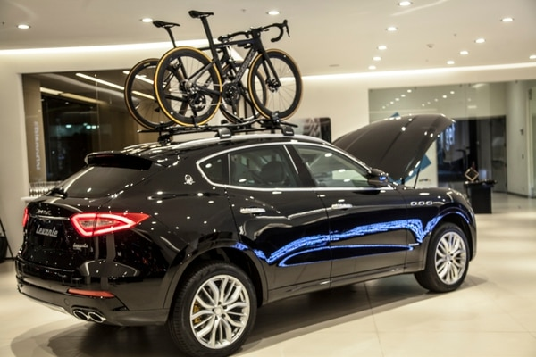Fotografía del Maserati Levante Diésel. Foto cortesía Veinsa Motors
