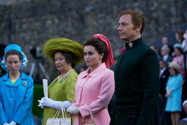 Como parte de los hechos históricos que se relatarán en esta temporada está la designación de Carlos como el príncipe de Gales. Fotografía: Netflix para La Nación