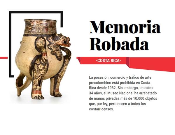 El especial interactivo Memoria Robada fue un trabajo de Hassel Fallas, editora de la Unidad de Inteligencia de Datos de La Nación, y Marco Hernández, diseñador interactivo. (JOSE PABLO ROBLES)
