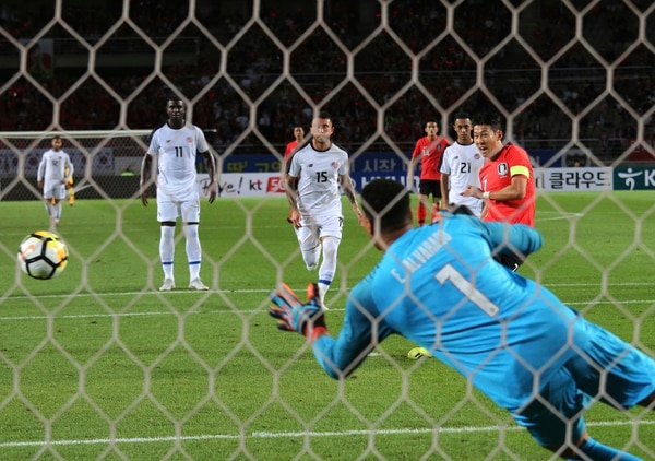 Esteban Alvarado recibió dos anotaciones ante Corea del Sur. Fotografía: AP