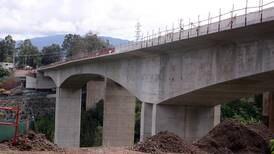 Nuevo puente del Saprissa abrirá a mediados de setiembre con barandas para evitar suicidios