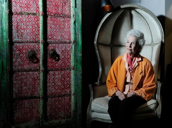 Henrietta Boggs ex esposa del ex presidente Jose Figueres Ferrer