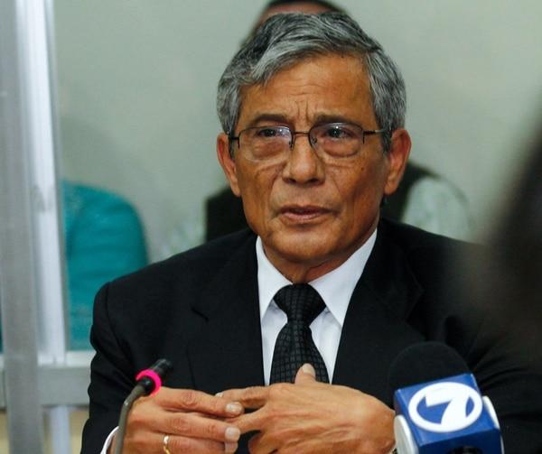 El fiscal general, Jorge Chavarría, contactó a Gamboa.   ARCHIVO
