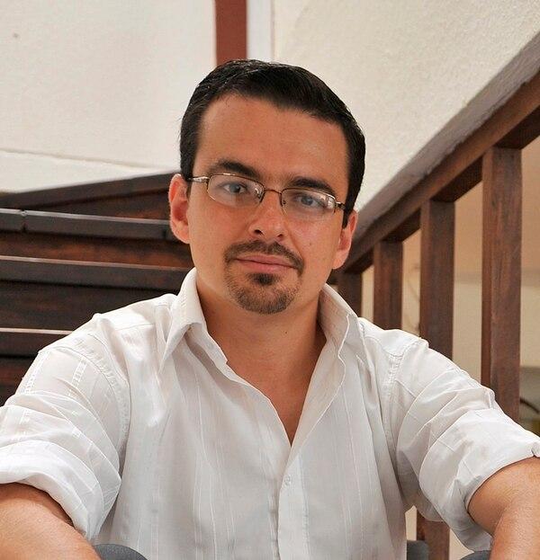 José María Villalta, candidato presidencial del Frente Amplio.