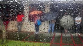 Meteorológico advierte por fuertes aguaceros al llegar al pico de la estación lluviosa