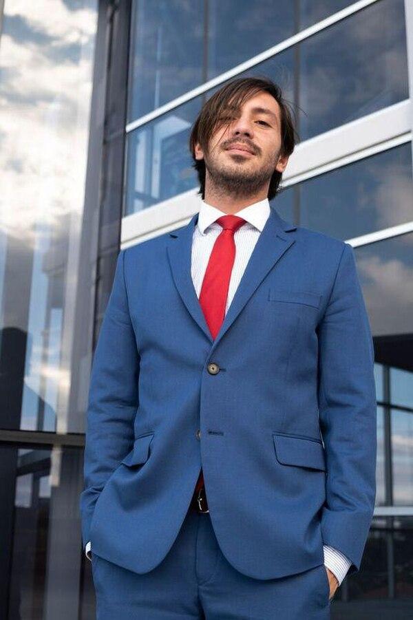 Wálter Brenes es un abogado de 33 años, muy enfocado en el sector ambientalista. Foto IG
