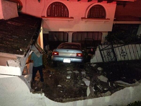 La vivienda sufrió muchos daños. No hubo personas lesionadas. Fotografía: Keyna Calderón