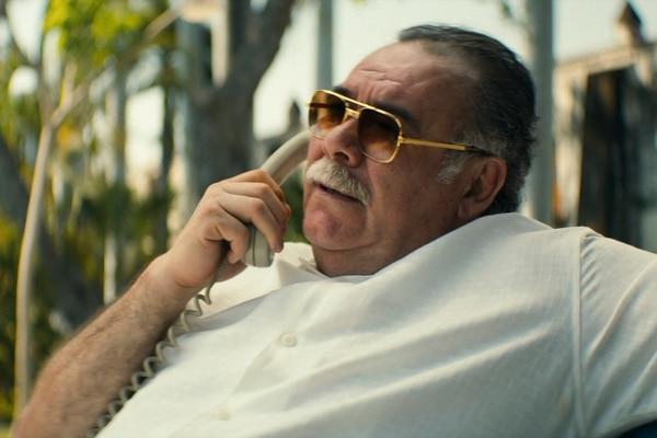 Juan Nepomuceno Guerra, fundador del Cartel del Golfo, es interpretado en la serie por el veterano actor Jesús Ochoa, toda una institución en el mundo de las telenovelas. Fotografía: Netflix para La Nación