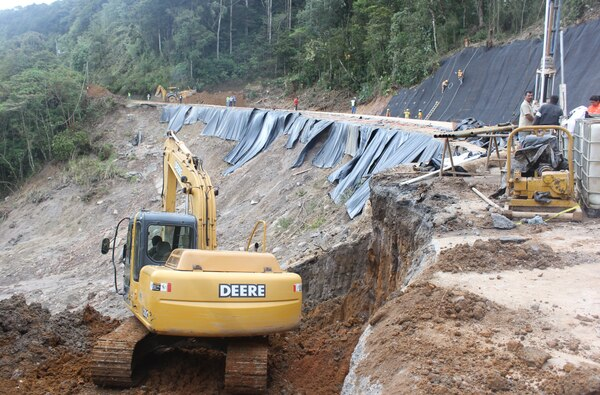 El MOPT y Conavi han estado realizando trabajos en la zona desde el 29 de enero pasado.