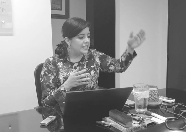 La ministra de Planificación Nacional y Política Económica, Pilar Garrido, explicó los detalles de la nueva versión del proyecto sobre empleo público. Foto: A. Sequeira.